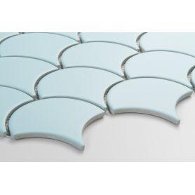 Flabellum Light Blue, mat - kafle ceramiczne