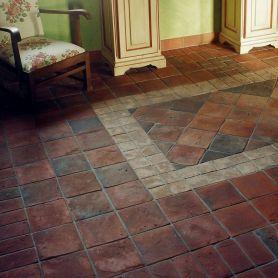 Aranżacja - gotycka terakota rustykalna