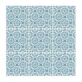 Equipe Area Botanic Blue Deco 15x15 cm