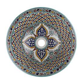 Maraj - kolorowa umywalka Marokańska