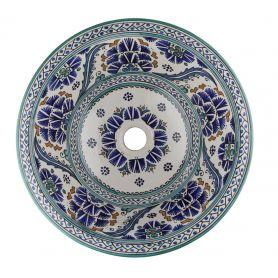 Sishia - wzorzysta umywalka  z Maroka