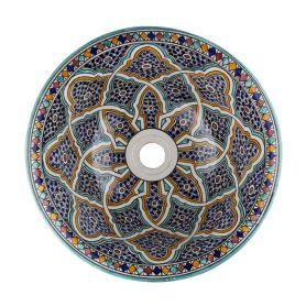 Ramila - ceramiczna umywalka  z Maroka