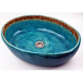 Marika - Owalna umywalka z koronką