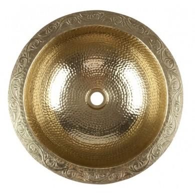 Mehdi - srebrna miedziana umywalka
