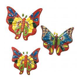 Ceramiczne motyle z Meklsyku - zestaw
